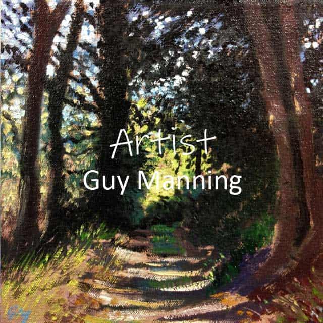 Autumn by artist Guy Manning