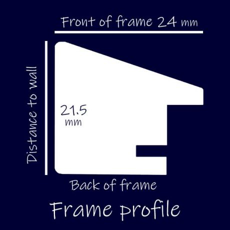 The picture frame profile